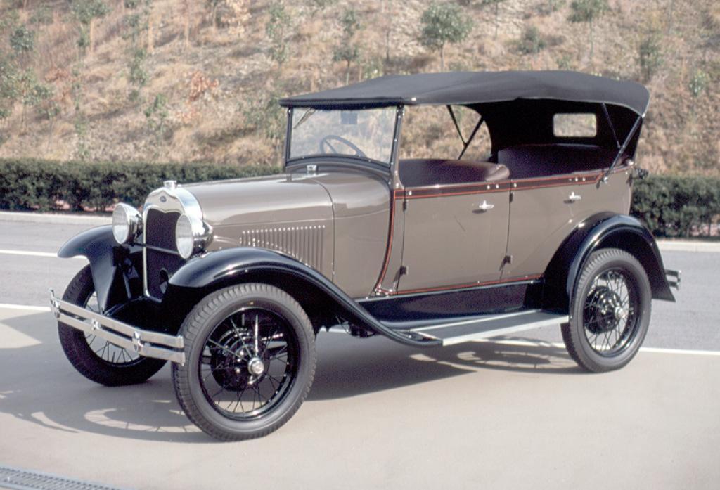 フォード モデルA(日本製)   車両データベース   アーカイブズ   トヨタ博物館
