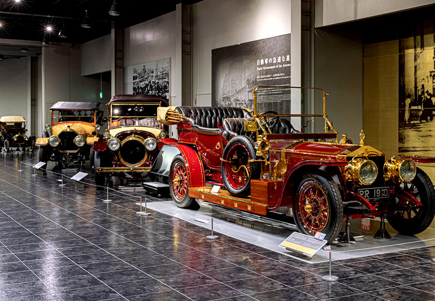 From the Dawn of the Automobile to the Birth of Japanese Cars